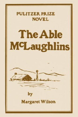 Able McLaughlins  1923 (Reprint) 9780877972884 Front Cover
