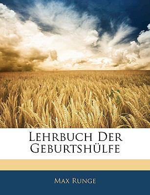 Lehrbuch Der Geburtsh�lfe  N/A edition cover
