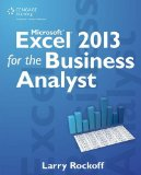 Microsoft Excel 2013 for the Business Analyst   2014 edition cover