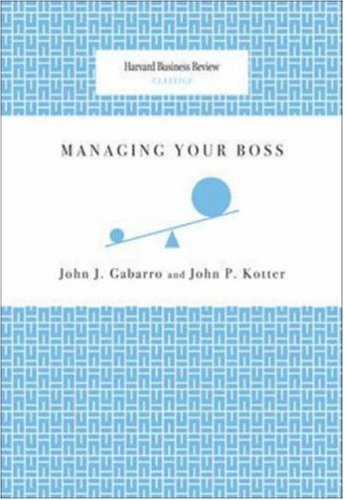Managing Your Boss   2008 edition cover
