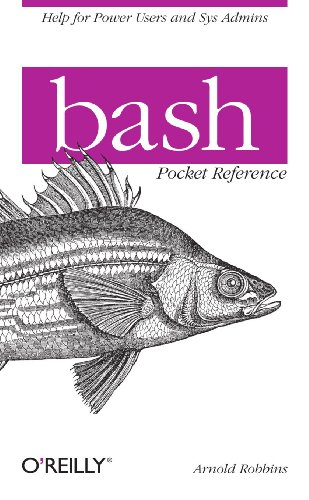 Bash Pocket Reference   2010 edition cover