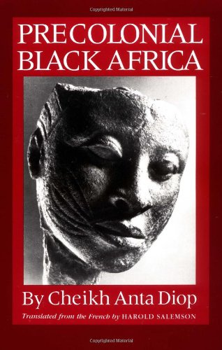 Precolonial Black Africa  N/A edition cover