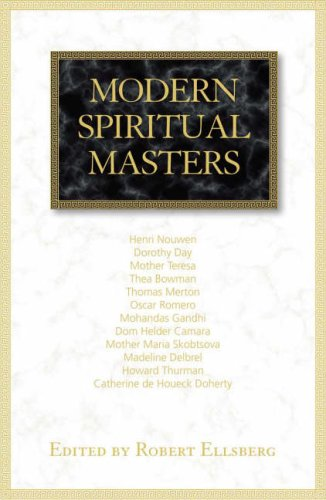 Modern Spiritual Masters Writings on Contemplation and Compassion  2008 9781570757884 Front Cover