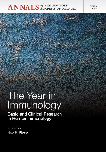 The Year in Immunology:   2013 edition cover