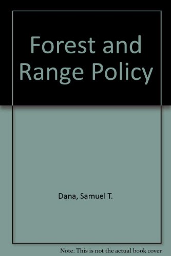 Forest and Range Policy 2nd 1980 edition cover