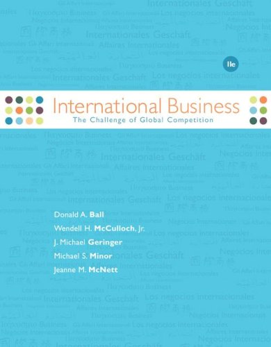 International Business The Challenge of Global Competition 11th 2008 (Revised) 9780073346885 Front Cover