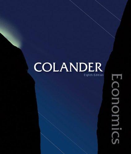 Economics  8th 2010 edition cover