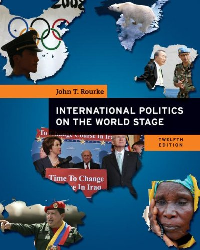 International Politics on the World Stage  12th 2008 edition cover
