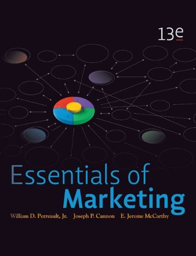 Essentials of Marketing  13th 2012 edition cover