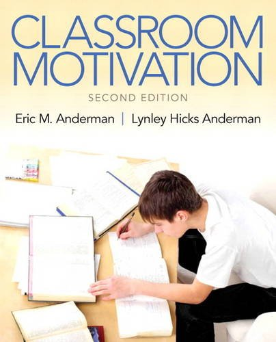 Classroom Motivation  2nd 2014 edition cover