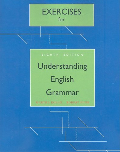 Exercise Book for Understanding English Grammar  8th 2009 edition cover