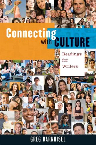 Connecting with Culture Readings for Writers  2012 edition cover