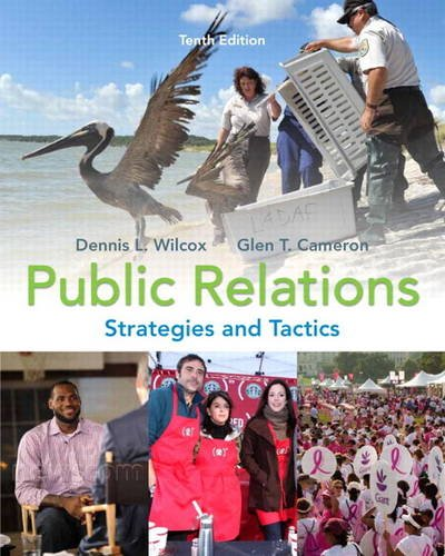Public Relations Strategies and Tactics 10th 2012 edition cover