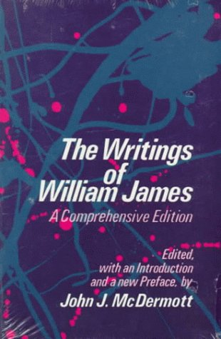 Writings of William James   1977 (Reprint) edition cover