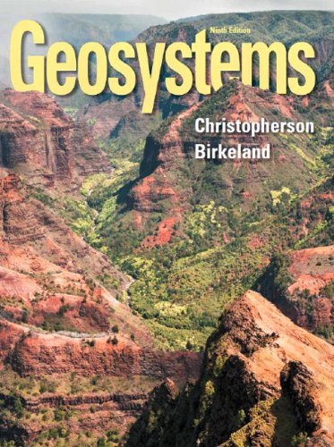 Geosystems An Introduction to Physical Geography Plus MasteringGeography with EText -- Access Card Package 9th 2015 edition cover