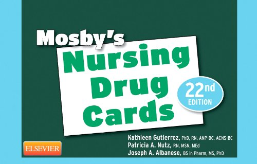 Mosby's Nursing Drug Cards  22nd edition cover