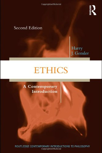 Ethics A Contemporary Introduction 2nd 2011 (Revised) edition cover