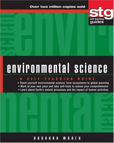 Environmental Science A Self-Teaching Guide  2005 edition cover