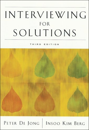 Interviewing for Solutions  3rd 2008 (Revised) edition cover