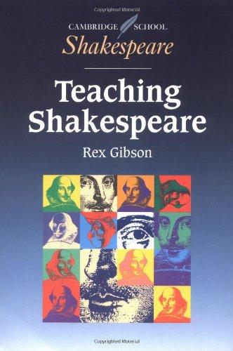 Teaching Shakespeare A Handbook for Teachers  1998 edition cover