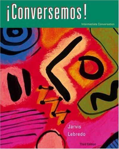 Conversemos!  3rd 2003 edition cover
