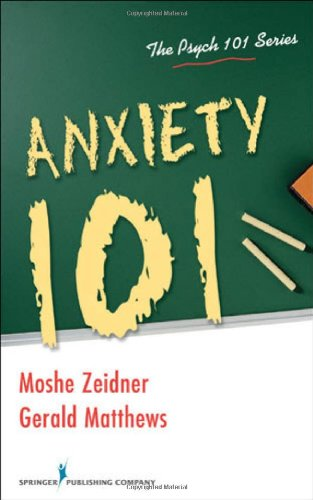 Anxiety 101   2010 9780826104885 Front Cover