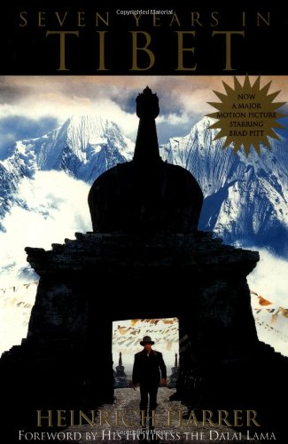 Seven Years in Tibet   1953 9780874778885 Front Cover