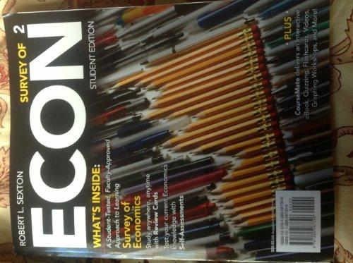 SURVEY OF ECON-W/APLIA ACCESS CODE      N/A edition cover