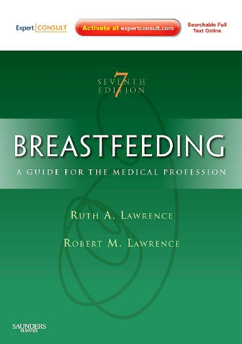 Breastfeeding A Guide for the Medical Professional 7th 2010 edition cover