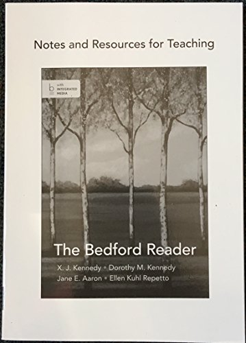 BEDFORD READER >INSTRS.ED<              N/A edition cover