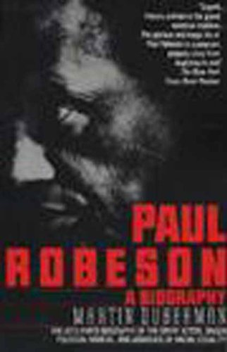Paul Robeson A Biography  1995 edition cover
