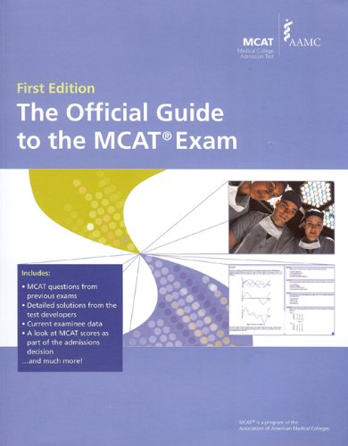The Official Guide to the MCAT Exam:  2009 edition cover