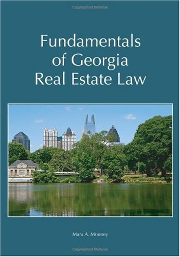 Fundamentals of Georgia Real Estate Law   2010 edition cover