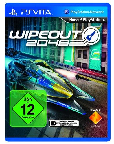 Wipeout 2048 PlayStation Vita artwork