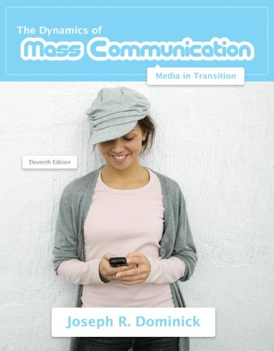 Dynamics of Mass Communication Media in Transition 11th 2011 edition cover