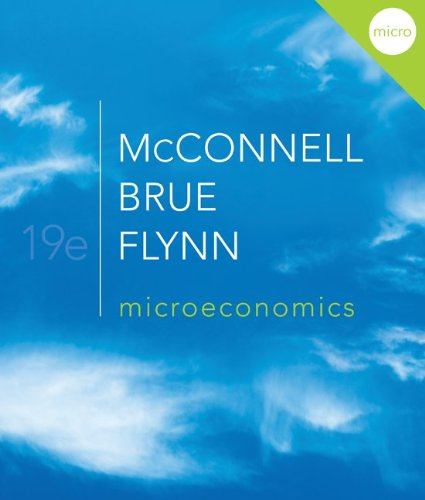 Microeconomics  19th 2012 9780077507886 Front Cover