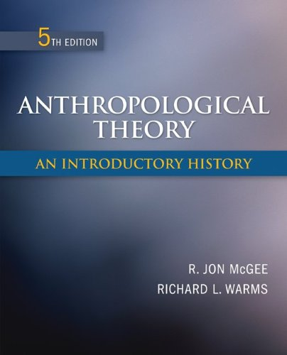 Anthropological Theory An Introductory History 5th 2012 edition cover