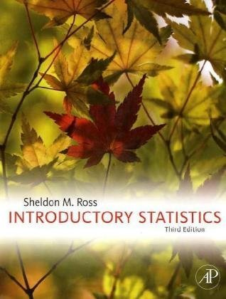 Introductory Statistics  3rd 2010 edition cover