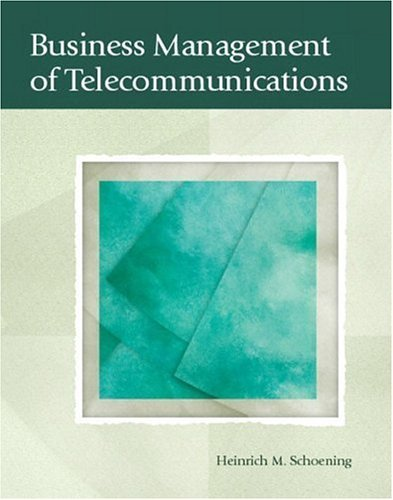 Business Management of Telecommunications   2005 edition cover