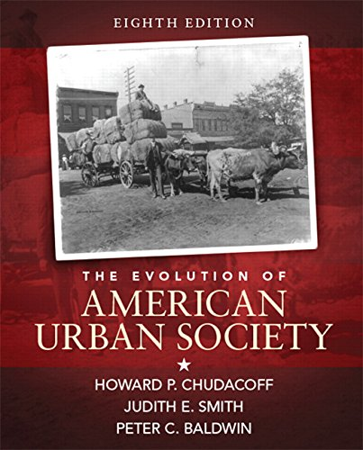 Evolution of American Urban Society  8th 2015 (Revised) edition cover