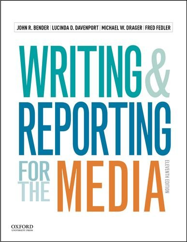 Writing and Reporting for the Media:   2015 edition cover