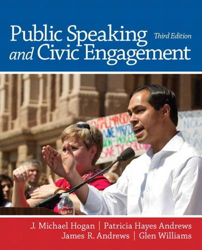 Public Speaking and Civic Engagement  3rd 2014 edition cover