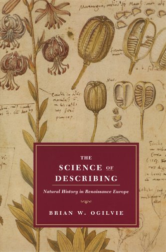 Science of Describing Natural History in Renaissance Europe  2008 edition cover