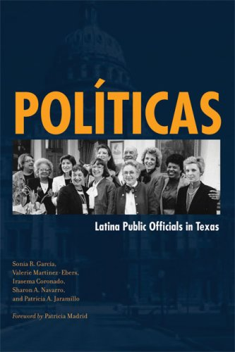 Pol�ticas Latina Public Officials in Texas  2008 edition cover