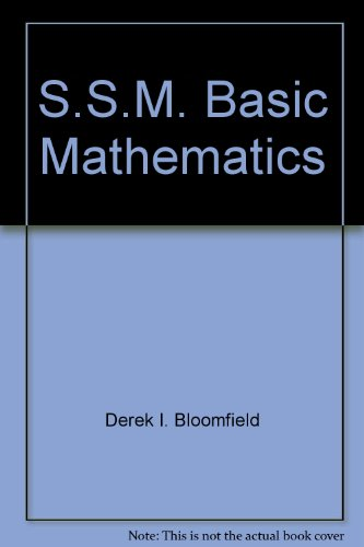 Basic Math Student Manual, Study Guide, etc.  9780314040886 Front Cover
