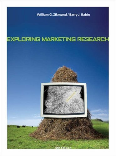 Exploring Marketing Research  9th 2007 edition cover