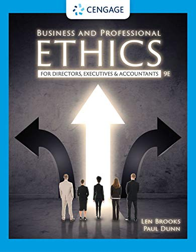 Cover art for Business and Professional Ethics , 9th Edition