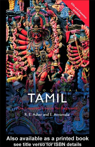 Colloquial Tamil The Complete Course for Beginners  2002 edition cover