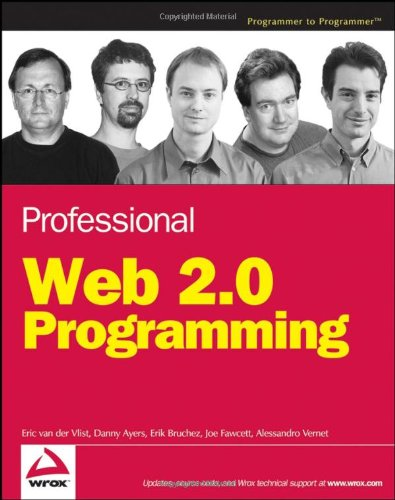 Professional Web 2. 0 Programming   2007 9780470087886 Front Cover