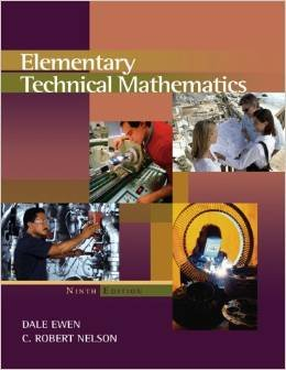 ELEMENTARY TECHNICAL MATH.>INS 9th 2007 9780495019886 Front Cover